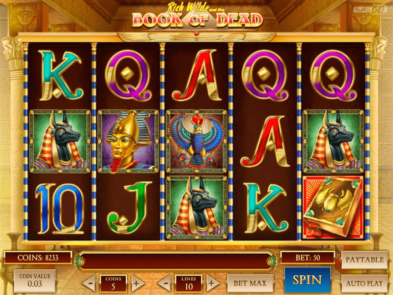 Spielen Sie Book of Dead Slot ohne Anmeldung