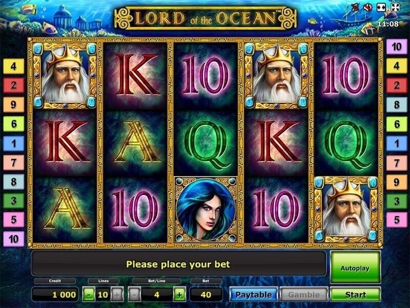 Lord of the Ocean Kostenlos Slot: Ein Mythologisches Automatenspiel